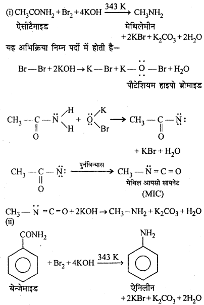 RBSE Solutions for Class 12 Chemistry Chapter 13 20a