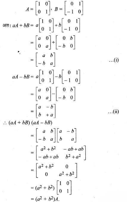 RBSE Solutions for Class 12 Maths Chapter 3 Additional Questions 19.1