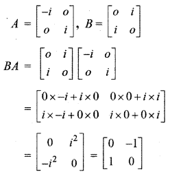 RBSE Solutions for Class 12 Maths Chapter 3 Additional Questions 4.1