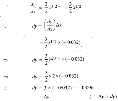 RBSE Solutions for Class 12 Maths Chapter 8 अवकलजों के अनुप्रयोग Ex 8.4