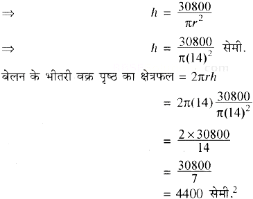 RBSE Solutions for Class 10 Maths Chapter 16 पृष्ठीय क्षेत्रफल एवं आयतन Ex 16.2 15