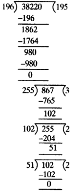 NCERT Solutions for Class 10 Maths Chapter 1 Real Numbers Ex 1.1 2