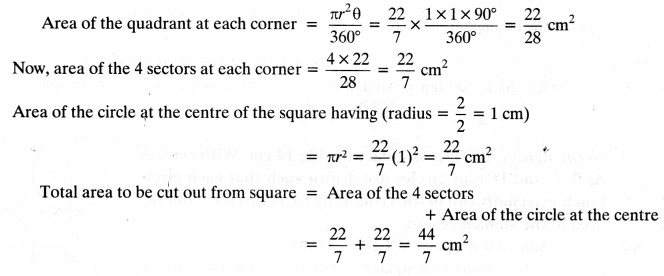 NCERT Solutions for Class 10 Maths Chapter 12 Areas Related to Circles Ex 12.3 5