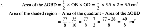 NCERT Solutions for Class 10 Maths Chapter 12 Areas Related to Circles Ex 12.3 19