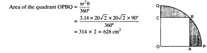NCERT Solutions for Class 10 Maths Chapter 12 Areas Related to Circles Ex 12.3 20