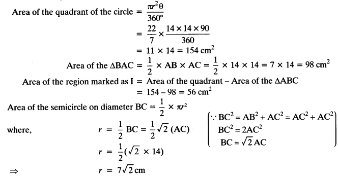 NCERT Solutions for Class 10 Maths Chapter 12 Areas Related to Circles Ex 12.3 23