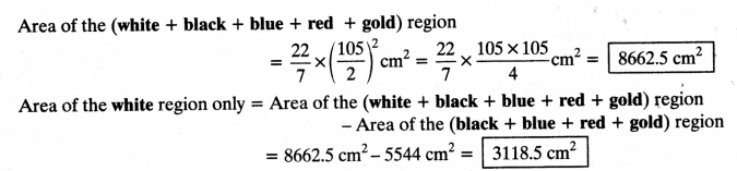 NCERT Solutions for Class 10 Maths Chapter 12 Areas Related to Circles Ex 12.1 4