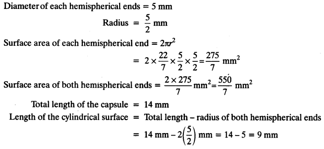 NCERT Solutions for Class 10 Maths Chapter 13 Surface Areas and Volumes Ex 13.1 8