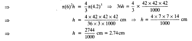 NCERT Solutions for Class 10 Maths Chapter 13 Surface Areas and Volumes Ex 13.3 1