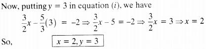 NCERT Solutions for Class 10 Maths Chapter 3 Pair of Linear Equations in Two Variables Ex 3.5 2
