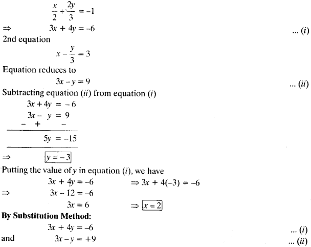 NCERT Solutions for Class 10 Maths Chapter 3 Pair of Linear Equations in Two Variables Ex 3.4 5