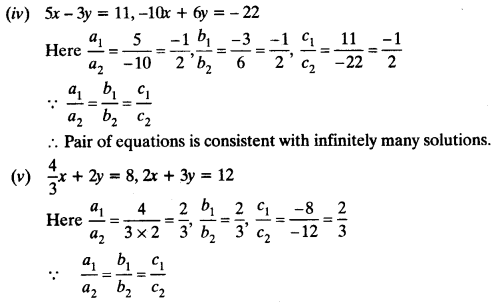 NCERT Solutions for Class 10 Maths Chapter 3 Pair of Linear Equations in Two Variables Ex 3.2 11