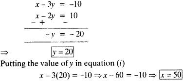 NCERT Solutions for Class 10 Maths Chapter 3 Pair of Linear Equations in Two Variables Ex 3.4 11