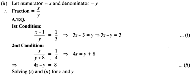NCERT Solutions for Class 10 Maths Chapter 3 Pair of Linear Equations in Two Variables Ex 3.5 10