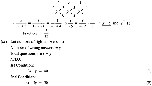 NCERT Solutions for Class 10 Maths Chapter 3 Pair of Linear Equations in Two Variables Ex 3.5 11