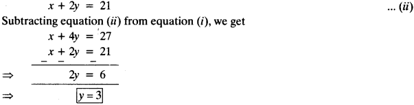 NCERT Solutions for Class 10 Maths Chapter 3 Pair of Linear Equations in Two Variables Ex 3.4 14