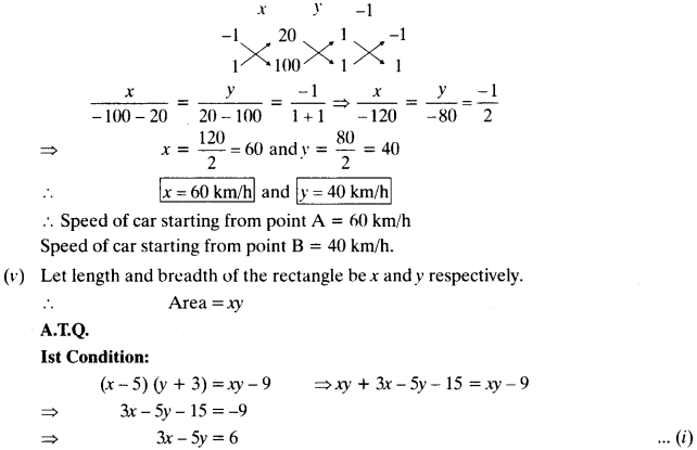 NCERT Solutions for Class 10 Maths Chapter 3 Pair of Linear Equations in Two Variables Ex 3.5 13