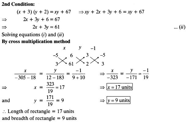 NCERT Solutions for Class 10 Maths Chapter 3 Pair of Linear Equations in Two Variables Ex 3.5 14