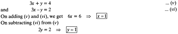 NCERT Solutions for Class 10 Maths Chapter 3 Pair of Linear Equations in Two Variables Ex 3.6 14