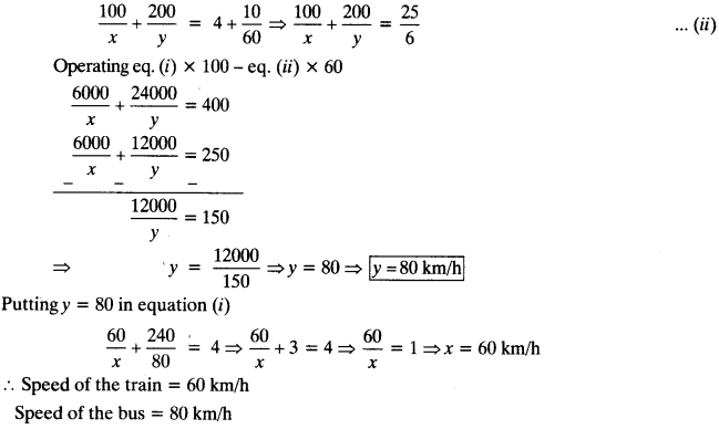 NCERT Solutions for Class 10 Maths Chapter 3 Pair of Linear Equations in Two Variables Ex 3.6 18