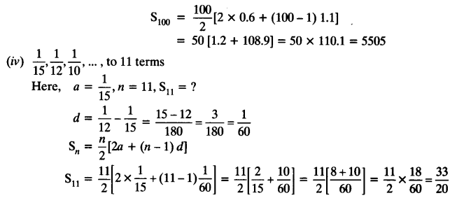 NCERT Solutions for Class 10 Maths Chapter 5 Arithmetic Progressions Ex 5.2 6