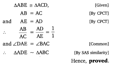 NCERT Solutions for Class 10 Maths Chapter 6 Exercise 6.3 Tribhuj in Hindi medium PDF