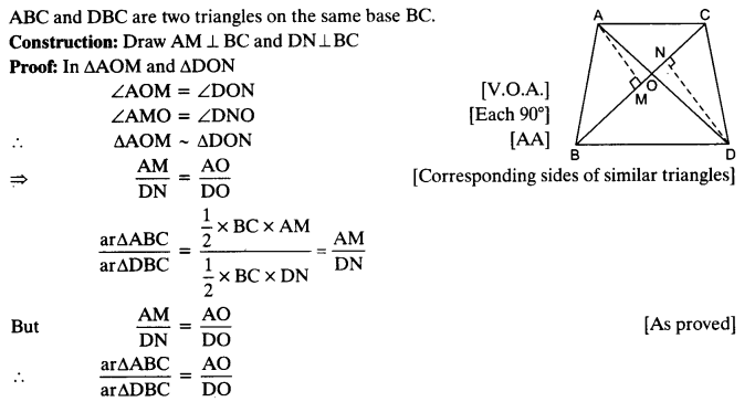 NCERT Solutions for Class 10 Maths Chapter 6 Triangles Ex 6.4 5