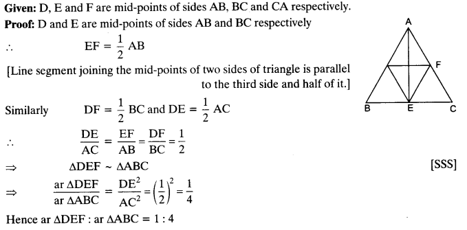 NCERT Solutions for Class 10 Maths Chapter 6 Triangles Ex 6.4 8