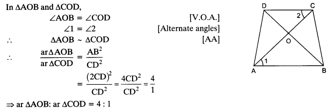 NCERT Solutions for Class 10 Maths Chapter 6 Triangles Ex 6.4 2