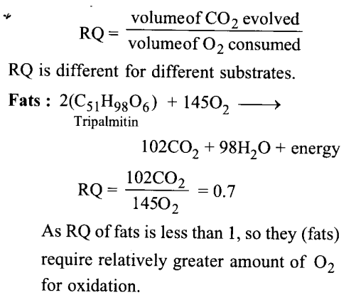 NCERT Solutions for Class 11 Biology Chapter 14 Respiration in Plants 11