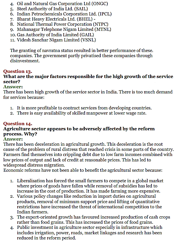 NCERT Solutions for Class 11 Chapter 3 Liberalisation, Privatisation and Globali IMG6