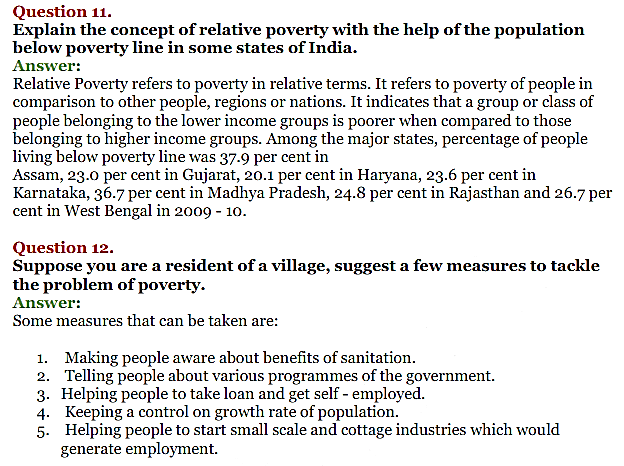 NCERT Solutions for Class 11 Chapter 4 Poverty IMG5