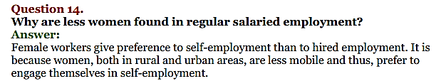 NCERT Solutions for Class 11 Chapter 7 Employment-Growth, Informalisation and Related Issues 4