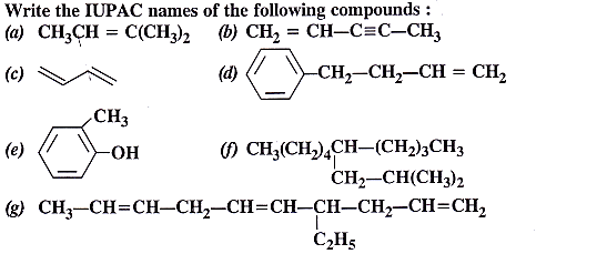 NCERT Solutions for Class 11 Chemistry Chapter 13 Hydrocarbons 1