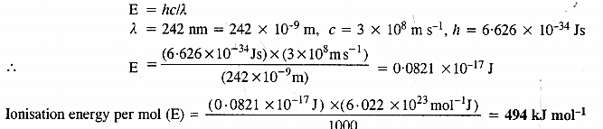 NCERT Solutions for Class 11 Chemistry Chapter 2 Structure of Atom 12