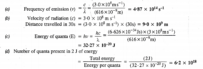 NCERT Solutions for Class 11 Chemistry Chapter 2 Structure of Atom 33