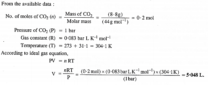NCERT Solutions for Class 11 Chemistry Chapter 5 States of Matter Gases and Liquids 14