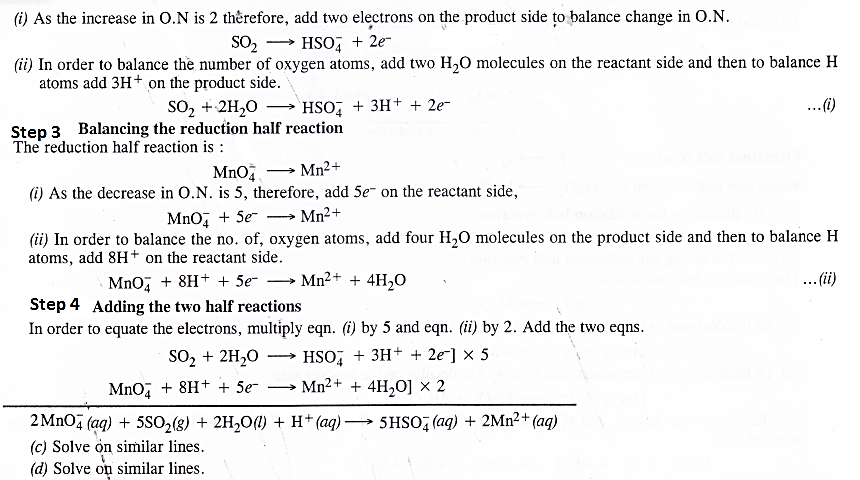NCERT Solutions for Class 11 Chemistry Chapter 8 Redox Reactions 30