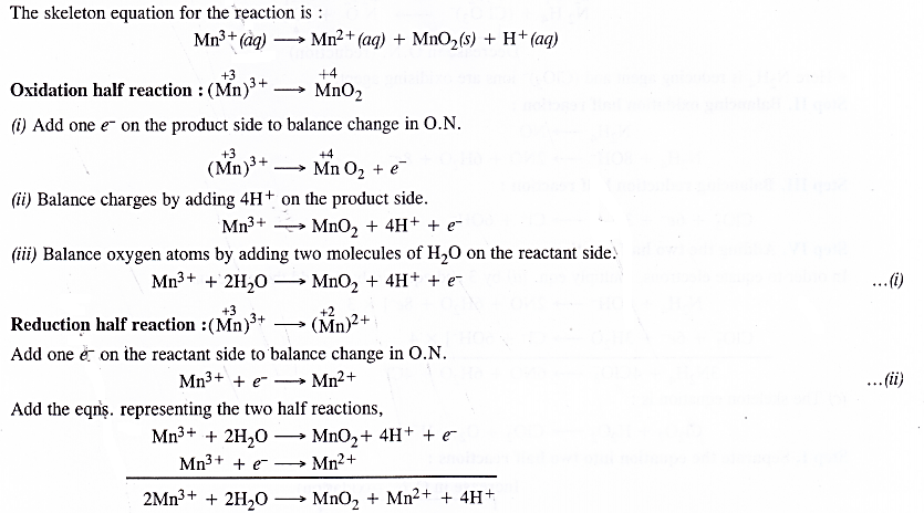 NCERT Solutions for Class 11 Chemistry Chapter 8 Redox Reactions 34