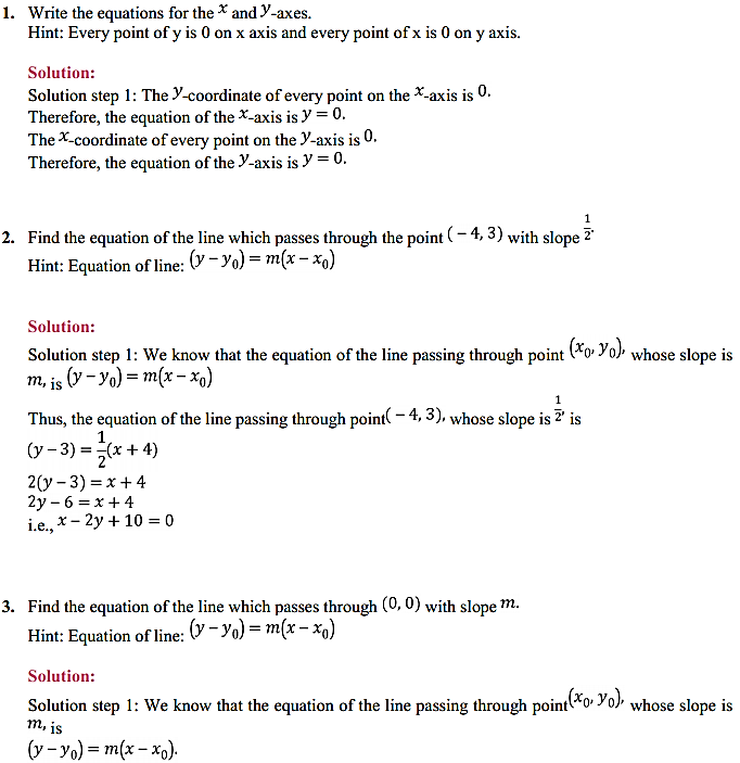 NCERT Solutions for Class 11 Maths Chapter 10 Straight Lines 10.2 1