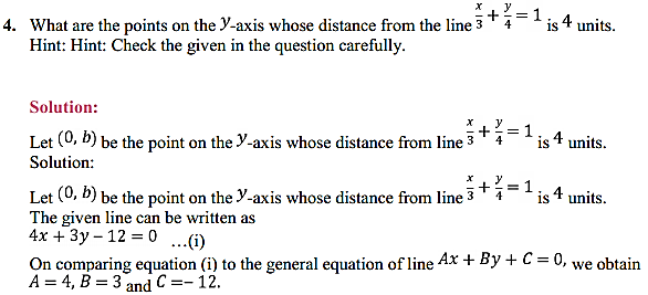 NCERT Solutions for Class 11 Maths Chapter 10 Straight Lines Miscellaneous Exercise 5