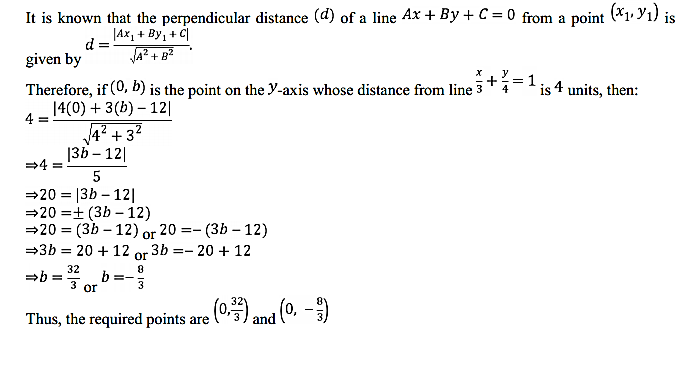 NCERT Solutions for Class 11 Maths Chapter 10 Straight Lines Miscellaneous Exercise 6