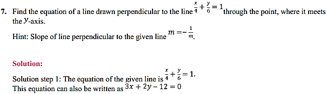 NCERT Solutions for Class 11 Maths Chapter 10 Straight Lines Miscellaneous Exercise 9