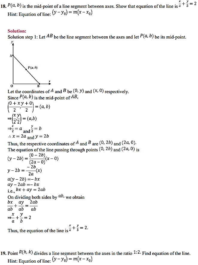 NCERT Solutions for Class 11 Maths Chapter 10 Straight Lines 10.2 12