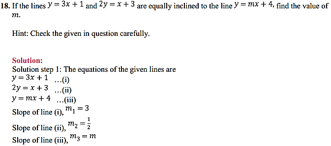 NCERT Solutions for Class 11 Maths Chapter 10 Straight Lines Miscellaneous Exercise 23