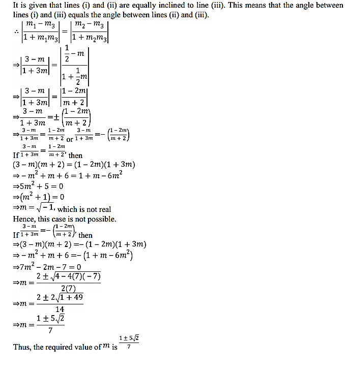NCERT Solutions for Class 11 Maths Chapter 10 Straight Lines Miscellaneous Exercise 24