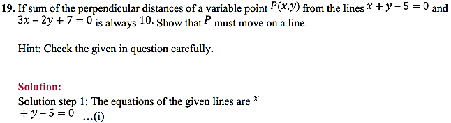 NCERT Solutions for Class 11 Maths Chapter 10 Straight Lines Miscellaneous Exercise 25