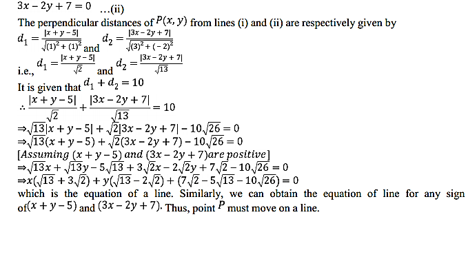 NCERT Solutions for Class 11 Maths Chapter 10 Straight Lines Miscellaneous Exercise 26