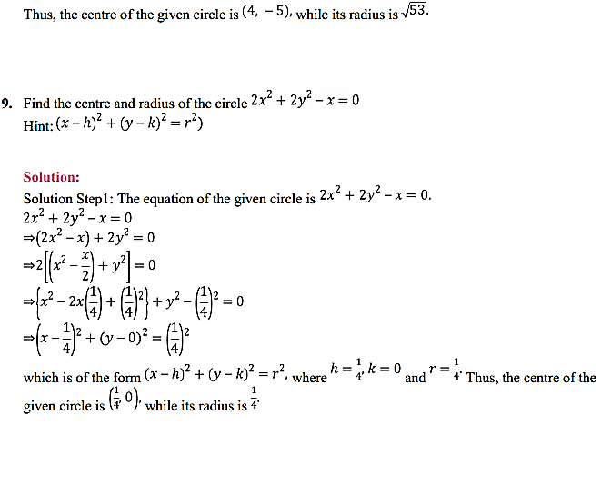 NCERT Solutions for Class 11 Maths Chapter 11 Conic Sections Ex 11.1 5