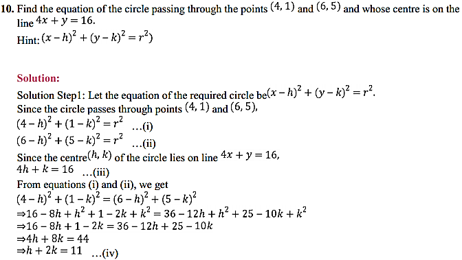 NCERT Solutions for Class 11 Maths Chapter 11 Conic Sections Ex 11.1 6